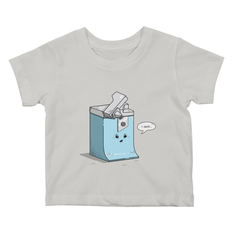 Can't Opener Kids Baby T-Shirt by wilbury tees