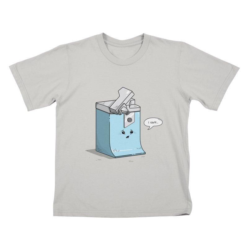 Can't Opener Kids T-Shirt by wilbury tees