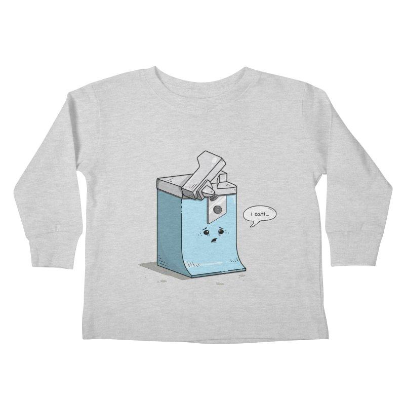 Can't Opener Kids Toddler Longsleeve T-Shirt by wilbury tees
