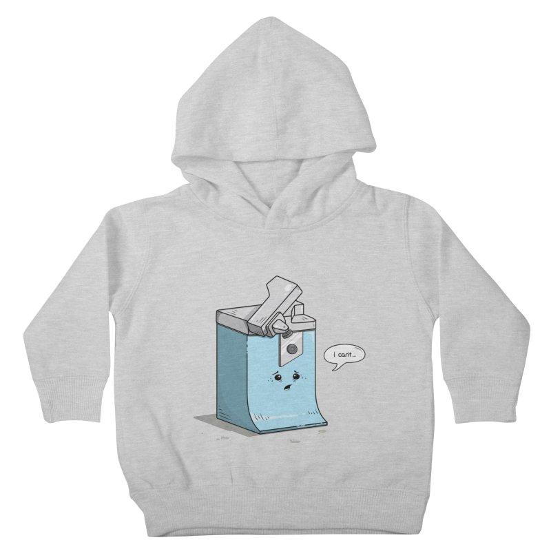 Can't Opener Kids Toddler Pullover Hoody by wilbury tees