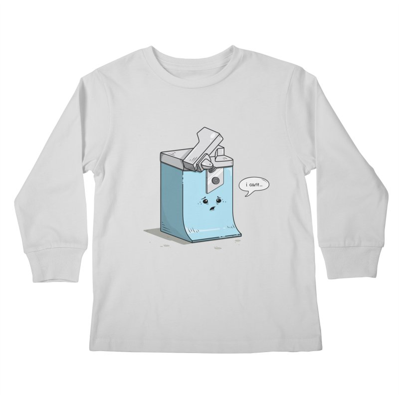 Can't Opener Kids Longsleeve T-Shirt by wilbury tees