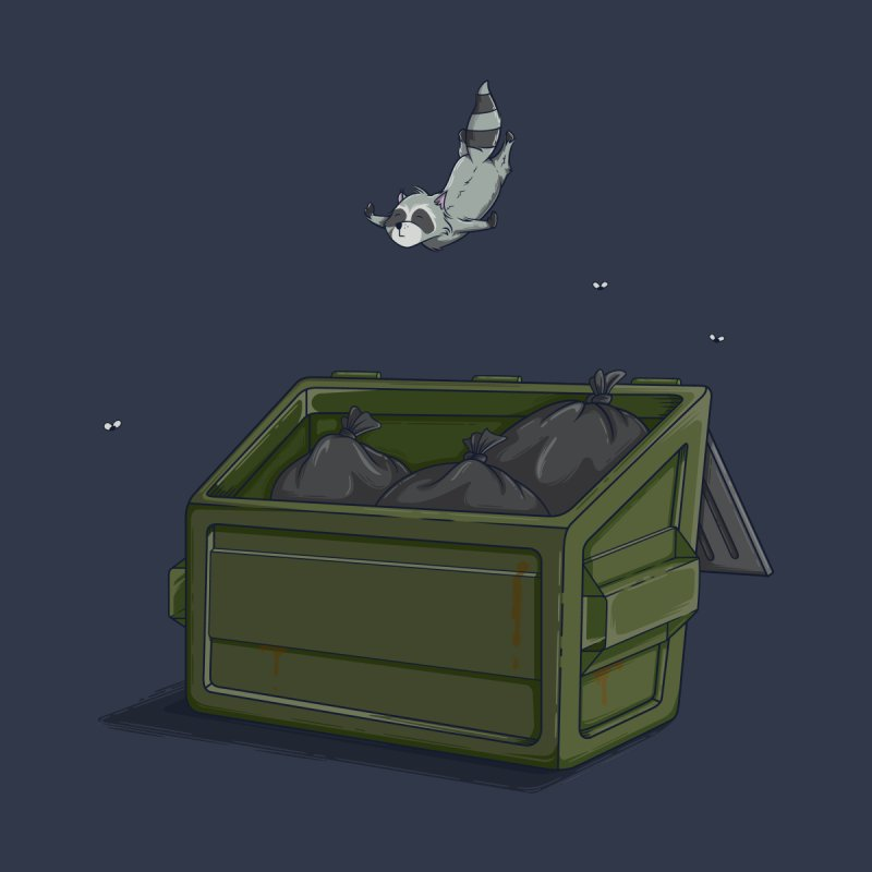 World Class Dumpster Diver by wilbury tees