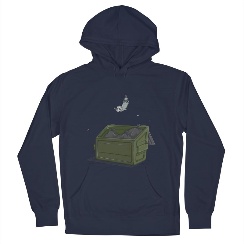 World Class Dumpster Diver Men's Pullover Hoody by wilbury tees