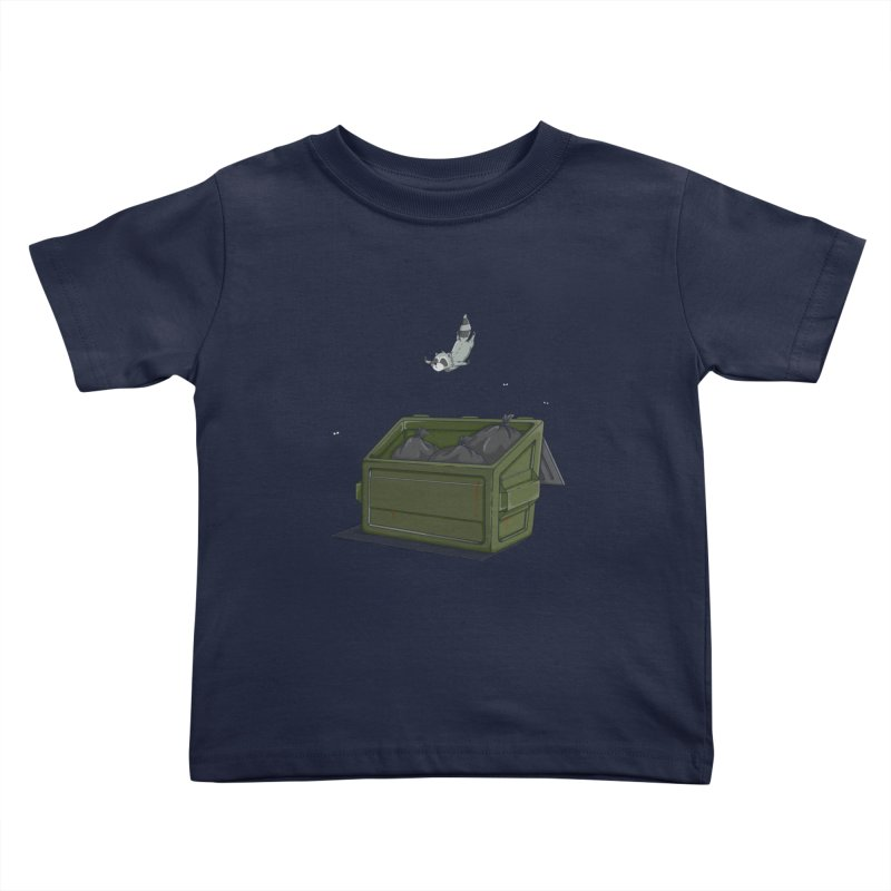 World Class Dumpster Diver Kids Toddler T-Shirt by wilbury tees