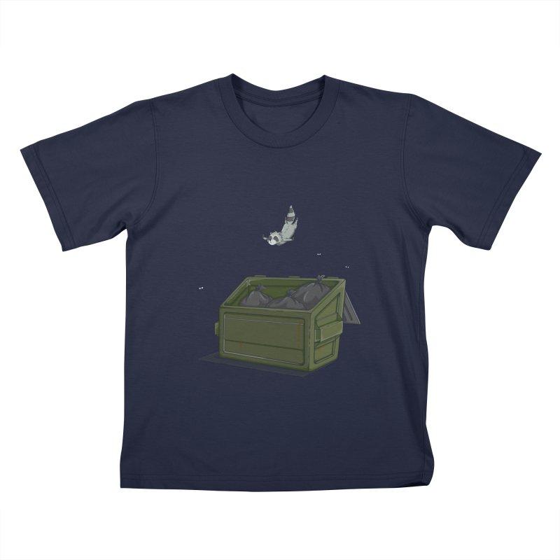 World Class Dumpster Diver Kids T-Shirt by wilbury tees