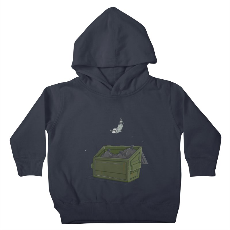World Class Dumpster Diver Kids Toddler Pullover Hoody by wilbury tees