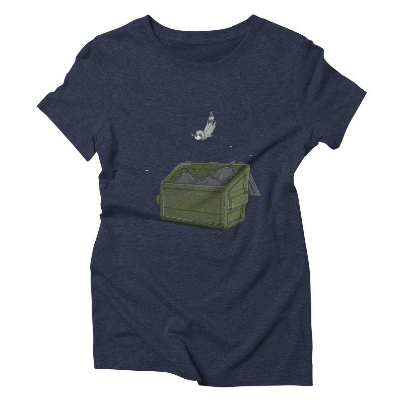 World Class Dumpster Diver Women's Triblend T-Shirt by wilbury tees
