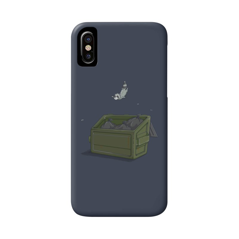 World Class Dumpster Diver Accessories Phone Case by wilbury tees