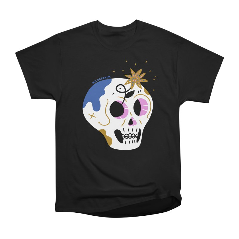 Skullage in Men's Classic T-Shirt Black by Wildergrim Shop