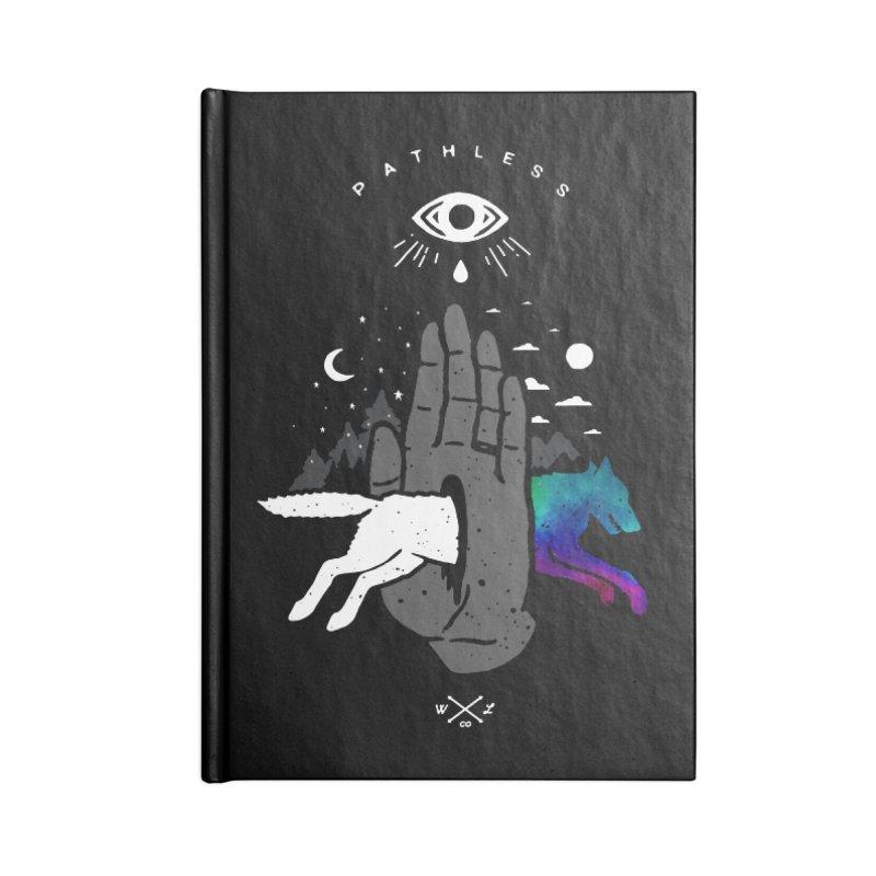 Pathless Accessories Notebook by wilderlustco's Artist Shop