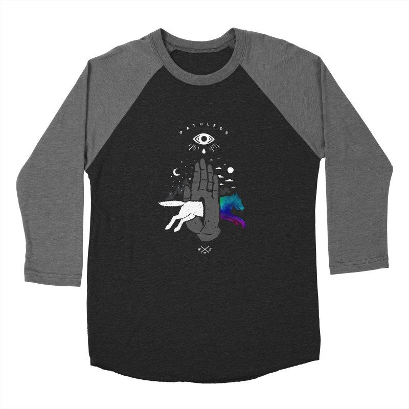 Pathless Men's Baseball Triblend Longsleeve T-Shirt by wilderlustco's Artist Shop