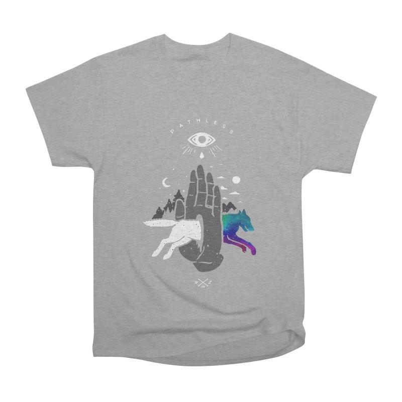 Pathless Women's Heavyweight Unisex T-Shirt by wilderlustco's Artist Shop