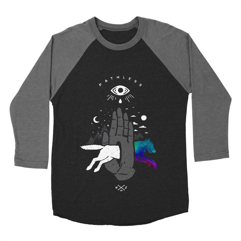 Pathless Men's Baseball Triblend Longsleeve T-Shirt by wilderlustco's Artist Shop