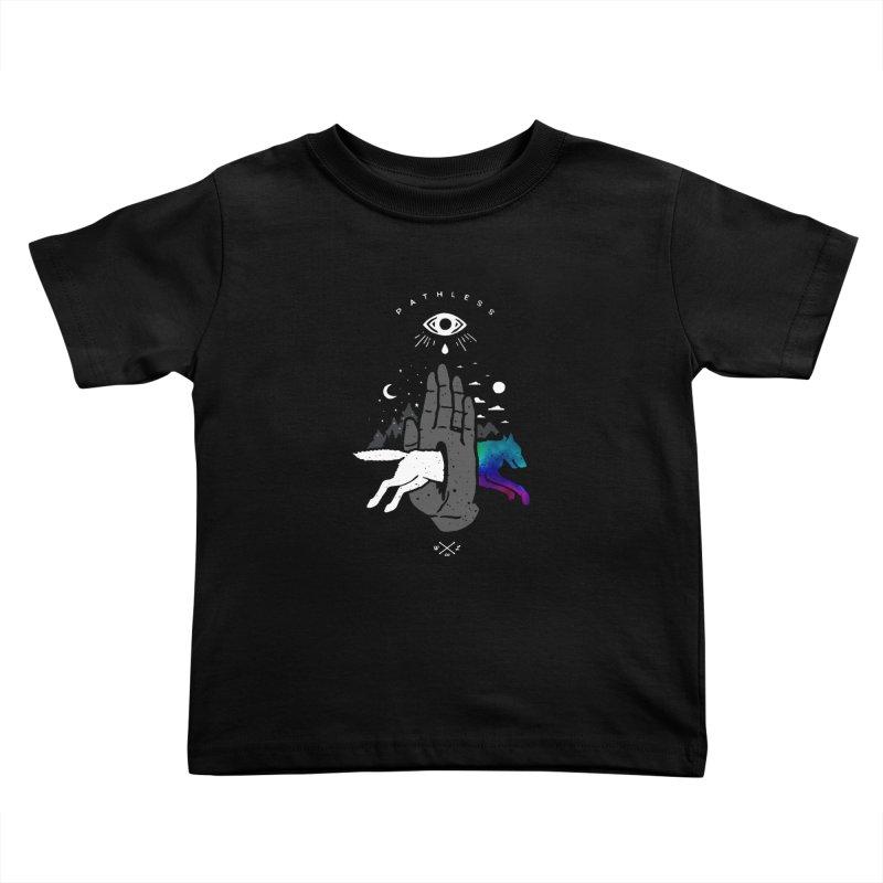Pathless Kids Toddler T-Shirt by wilderlustco's Artist Shop