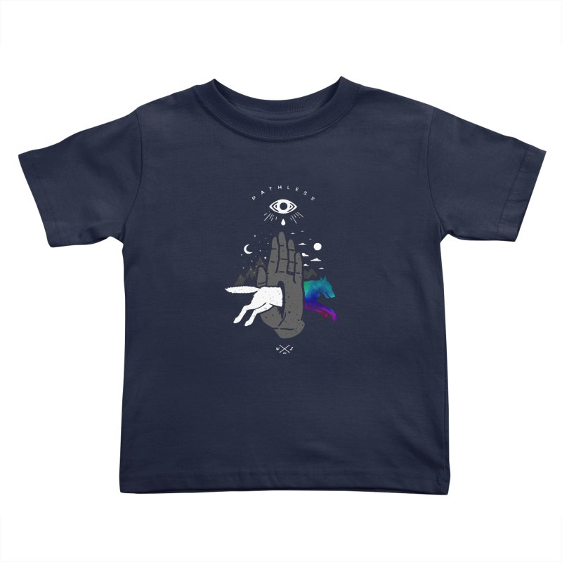 Pathless Kids Toddler T-Shirt by wilderlustco's Artist Shop