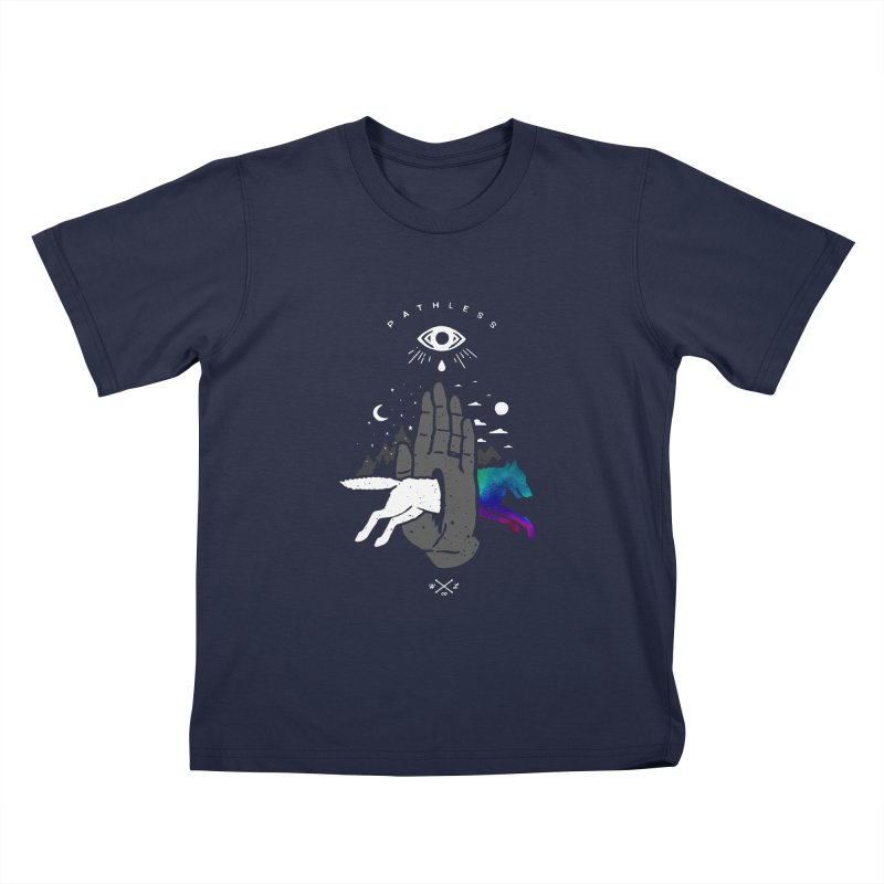 Pathless Kids T-Shirt by wilderlustco's Artist Shop