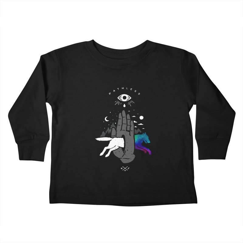 Pathless Kids Toddler Longsleeve T-Shirt by wilderlustco's Artist Shop