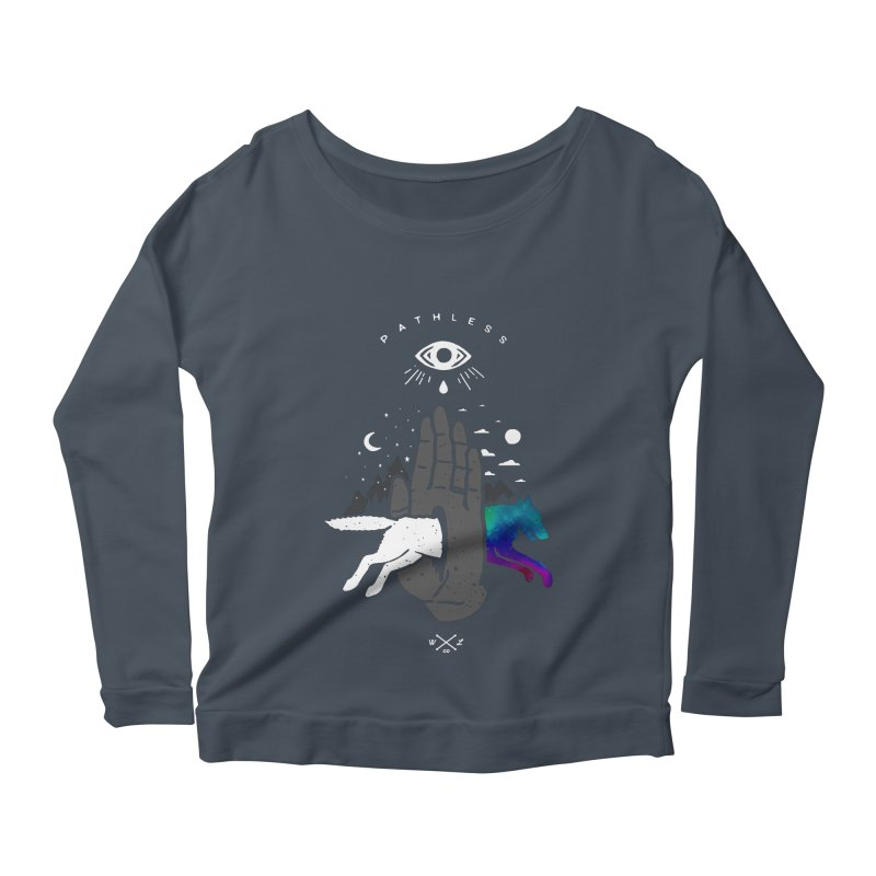 Pathless Women's Scoop Neck Longsleeve T-Shirt by wilderlustco's Artist Shop