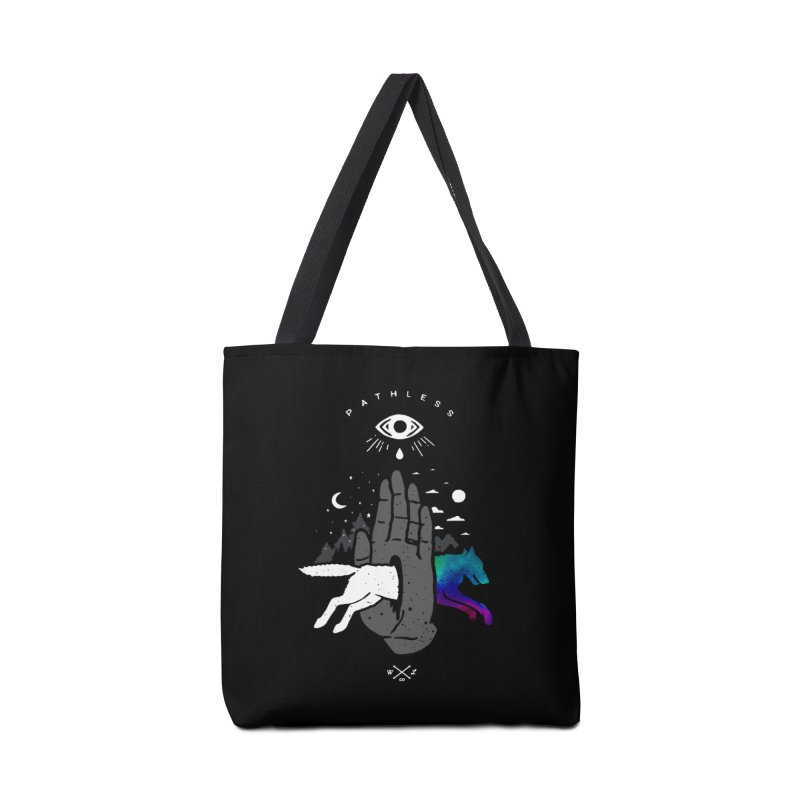 Pathless Accessories Tote Bag Bag by wilderlustco's Artist Shop