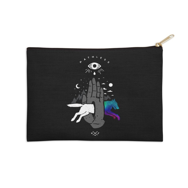 Pathless Accessories Zip Pouch by wilderlustco's Artist Shop