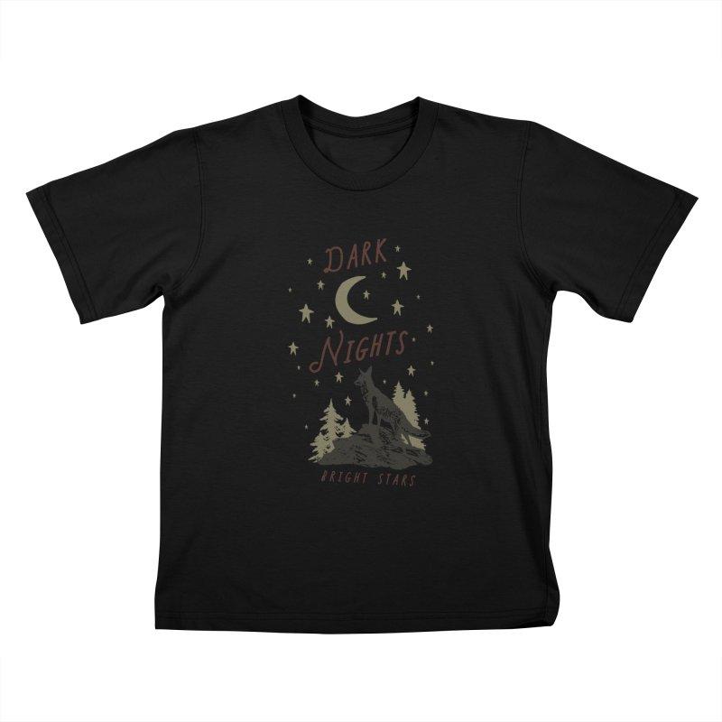 Dark Nights Kids T-Shirt by wilderlustco's Artist Shop
