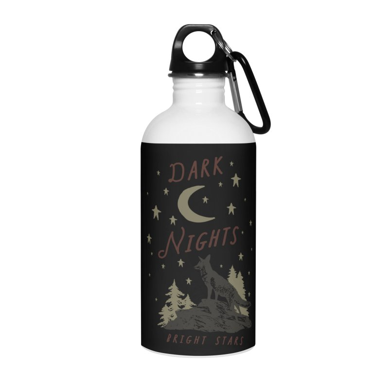 Dark Nights Accessories Water Bottle by wilderlustco's Artist Shop