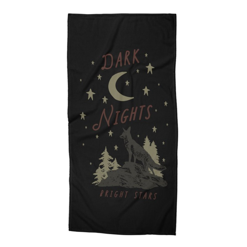 Dark Nights Accessories Beach Towel by wilderlustco's Artist Shop