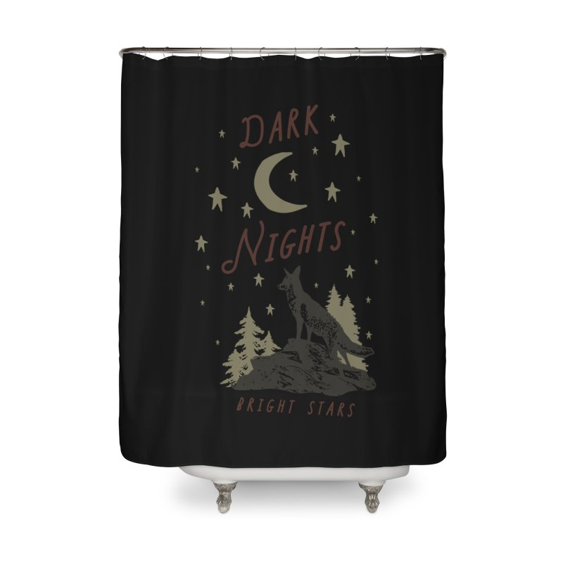 Dark Nights Home Shower Curtain by wilderlustco's Artist Shop