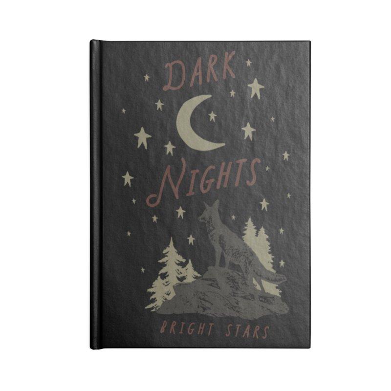 Dark Nights Accessories Notebook by wilderlustco's Artist Shop