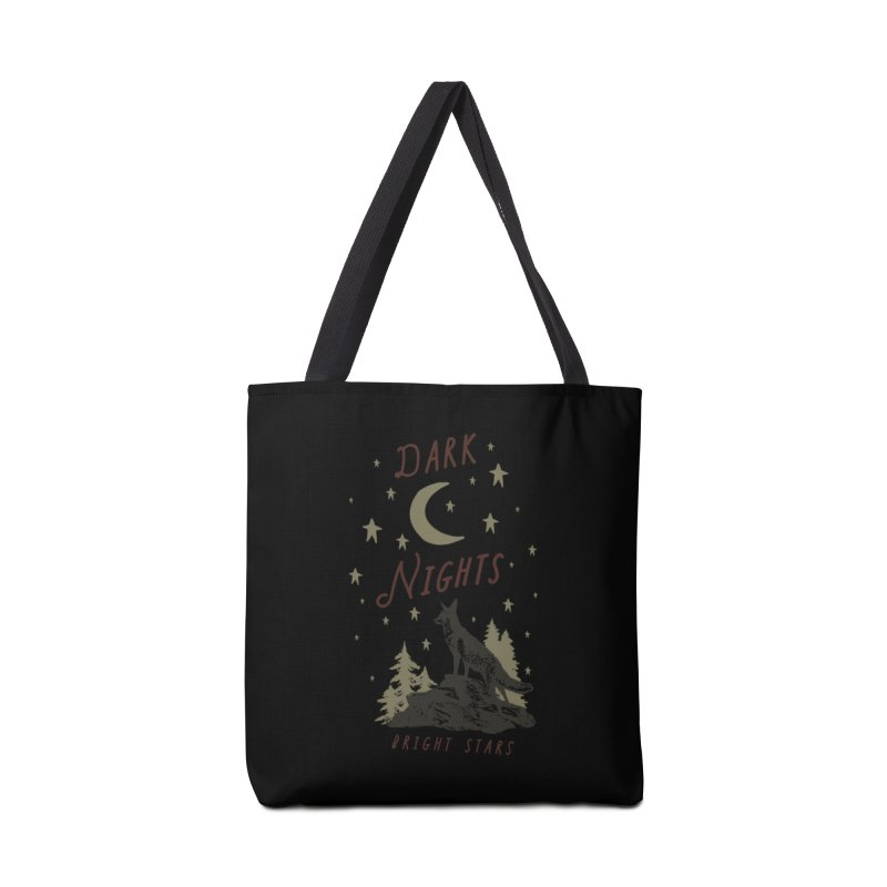 Dark Nights Accessories Bag by wilderlustco's Artist Shop