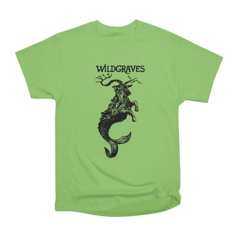Near Drowning- Black Men's Heavyweight T-Shirt by Wildgraves Merch