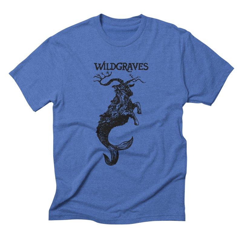 Near Drowning- Black Men's Triblend T-Shirt by Wildgraves Merch