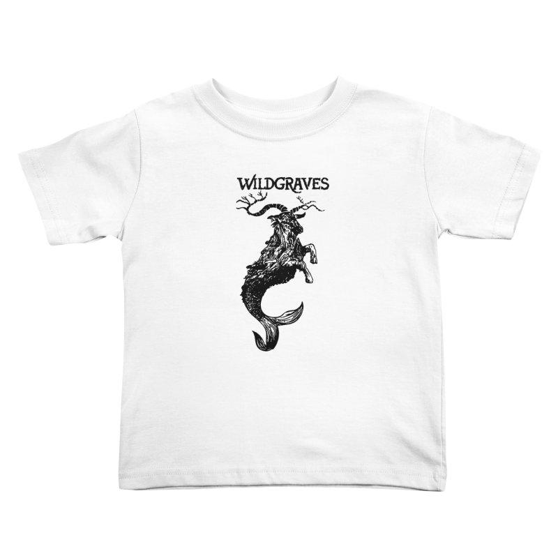 Near Drowning- Black Kids Toddler T-Shirt by Wildgraves Merch