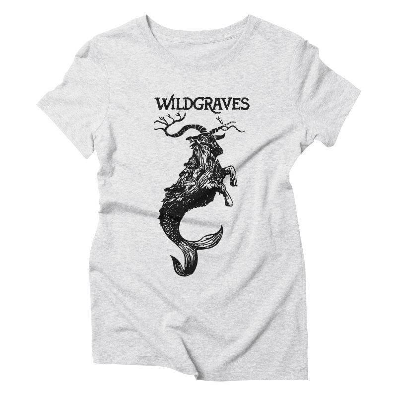 Near Drowning- Black Women's Triblend T-Shirt by Wildgraves Merch