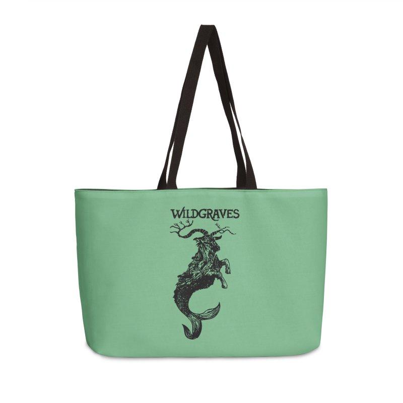 Near Drowning- Black Accessories Weekender Bag Bag by Wildgraves Merch