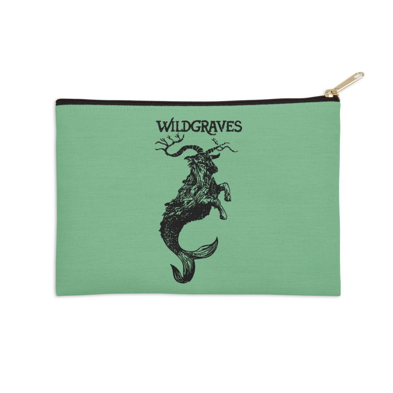 Near Drowning- Black Accessories Zip Pouch by Wildgraves Merch