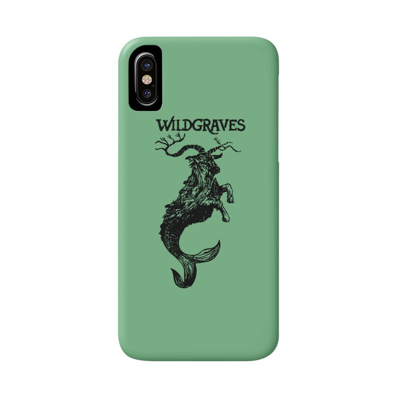 Near Drowning- Black Accessories Phone Case by Wildgraves Merch