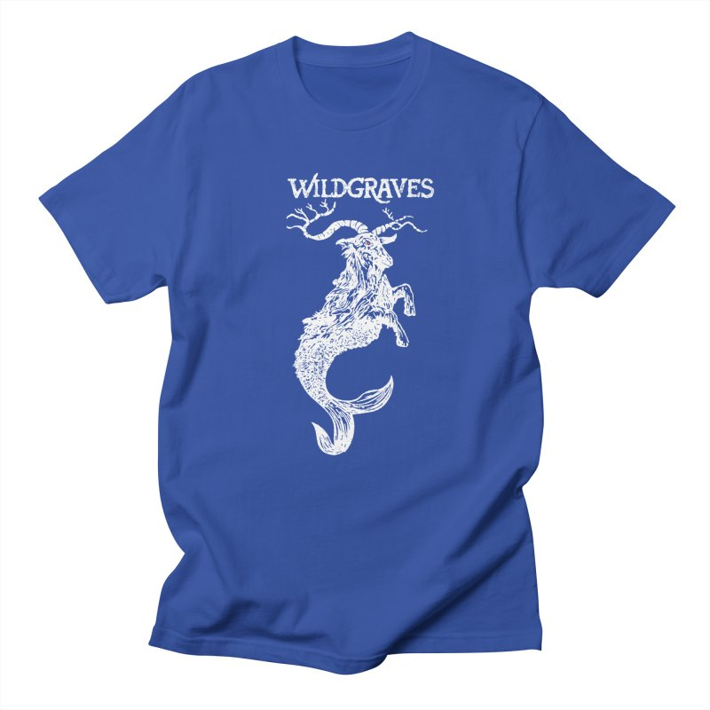 Near Drowning - White in Men's Regular T-Shirt Royal Blue by Wildgraves Merch