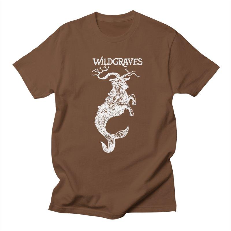 Near Drowning - White Men's Regular T-Shirt by Wildgraves Merch