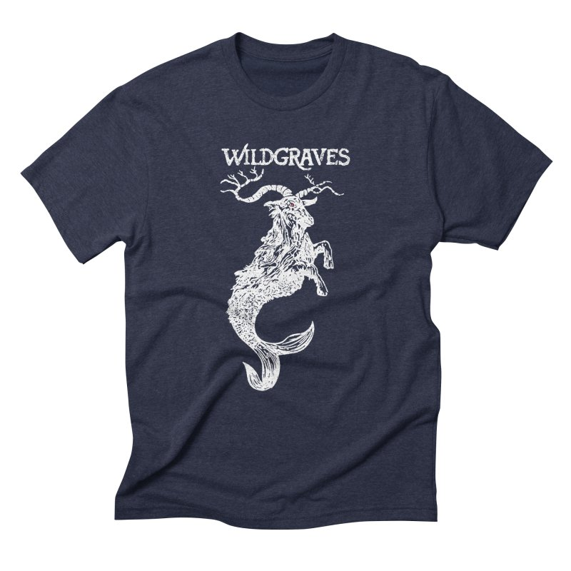 Near Drowning - White Men's Triblend T-Shirt by Wildgraves Merch