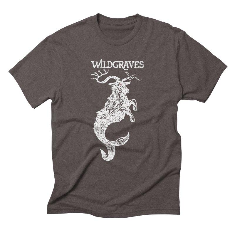 Near Drowning - White Men's Triblend T-Shirt by Wildgraves Merch