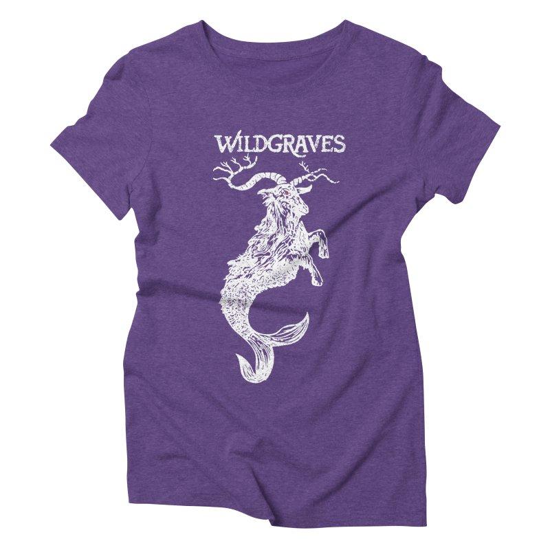 Near Drowning - White Women's Triblend T-Shirt by Wildgraves Merch