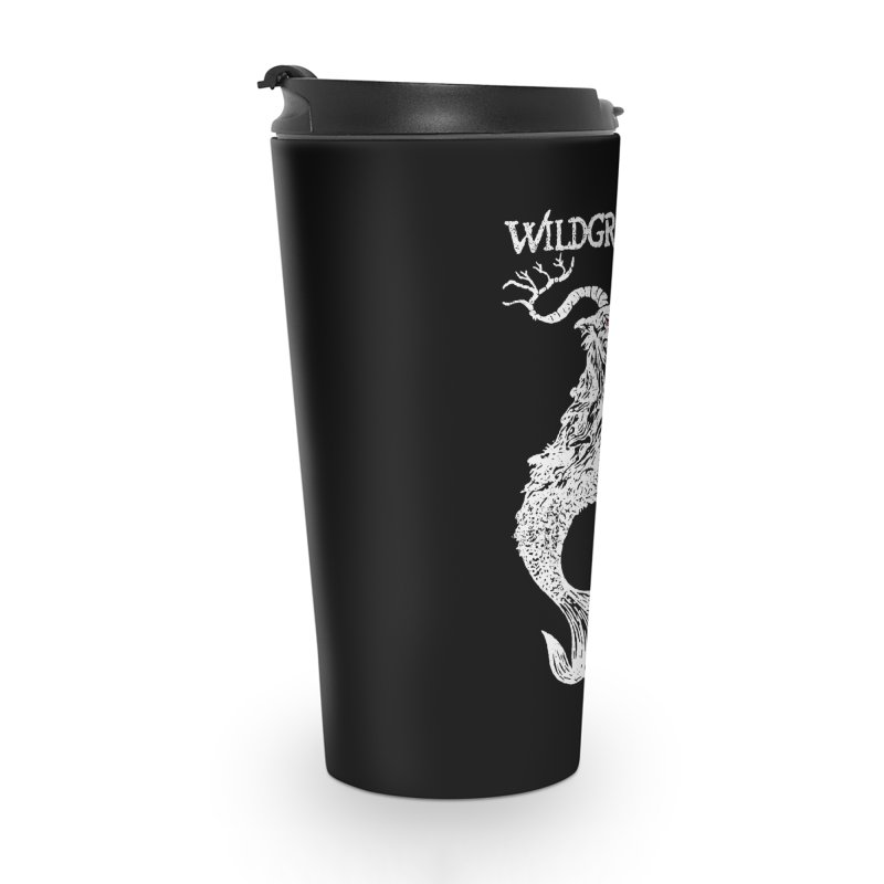 Near Drowning - White Accessories Travel Mug by Wildgraves Merch