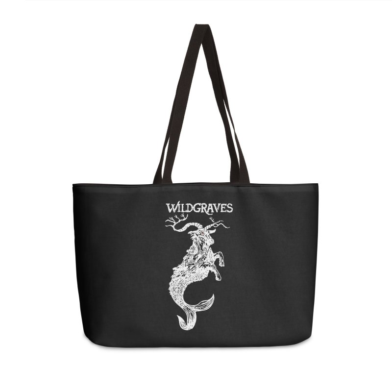Near Drowning - White Accessories Weekender Bag Bag by Wildgraves Merch