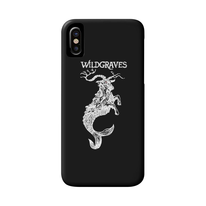Near Drowning - White Accessories Phone Case by Wildgraves Merch