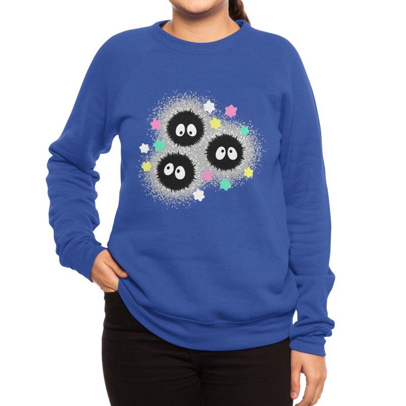 SOOT SPRITES Women's Sweatshirt by WILDGRAVITY