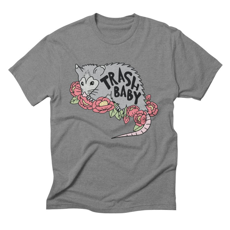 Trash Baby Men's Triblend T-Shirt by Wild Hunt