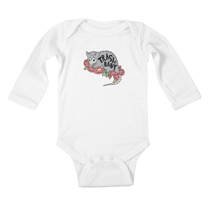 Trash Baby Kids Baby Longsleeve Bodysuit by Wild Hunt