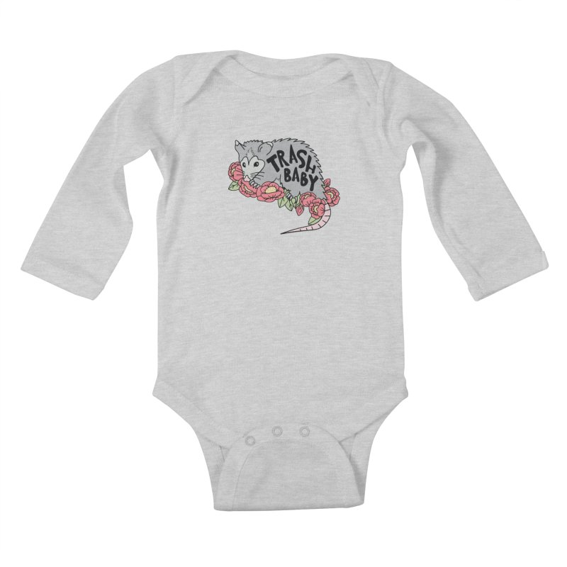 Trash Baby Kids Baby Longsleeve Bodysuit by Wild Hunt