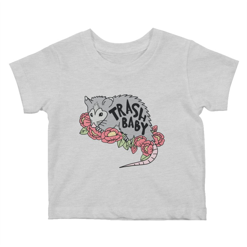 Trash Baby Kids Baby T-Shirt by Wild Hunt